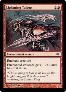 Lightning Talons ALA