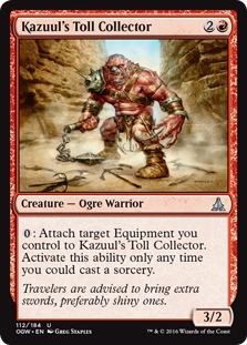 Kazuul's Toll Collector OGW