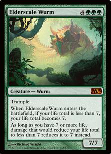 Elderscale-Wurm