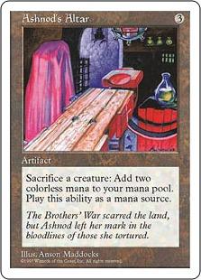 Ashnod's Altar 5ED