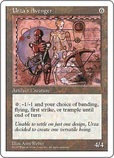 Urza's Avenger 5E