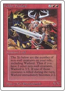 Keldon Warlord 2U