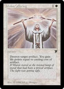 Divine Offering Leg MEd4