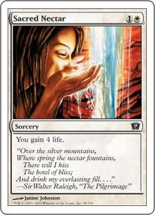 Sacred nectar 9ED