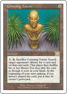 Grinning Totem 6E