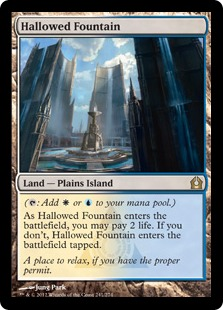 Hallowed Fountain RTR