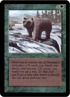 Grizzly Bears LEA