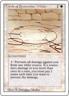 Circle of Protection White 3E