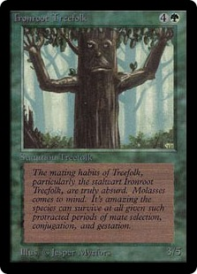 Ironroot Treefolk 2E