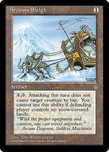 Arcum's Sleigh ICE