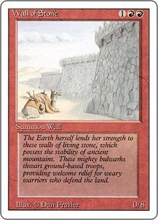 Wall of Stone 3E