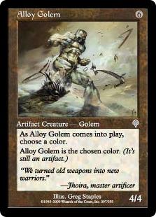 Alloy Golem INV