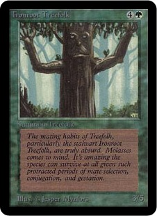 Ironroot Treefolk 1E