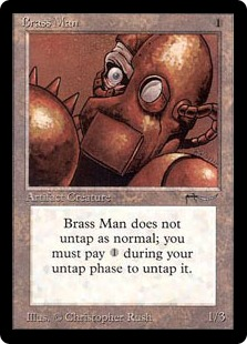 Brass Man ARN