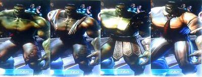 Hulk MUA Costumes