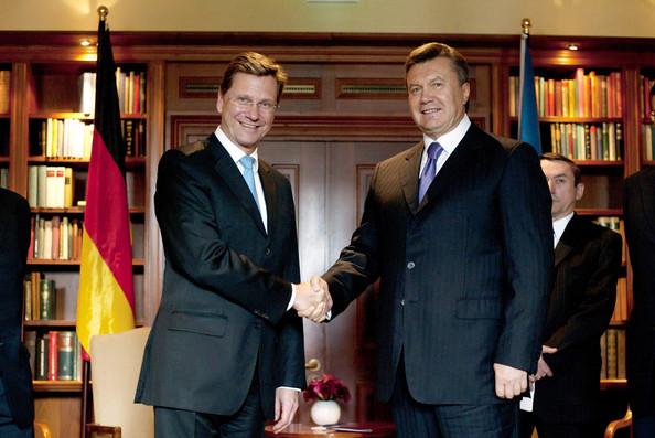 File:German Foreign Minister Welcomes Ukrainian President Yanukovych.jpg
