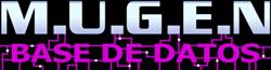 Wiki M.U.G.E.N Base de Datos