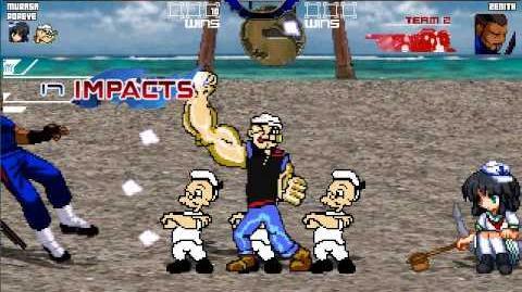 Mugen Survival Mode Captain Murasa Minamitsu & Popeye