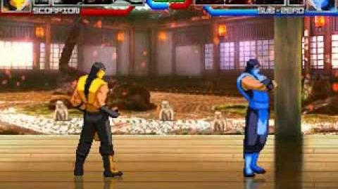 MUGEN Eternal Rivals 5 - Scorpion vs Sub-Zero