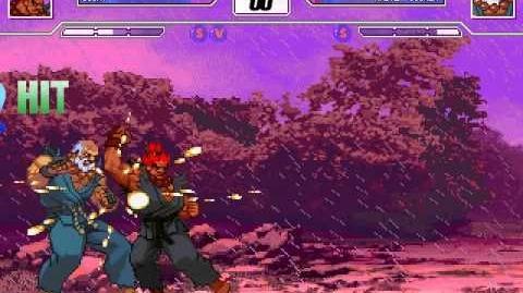 Mugen Battle of the Century - 15th Fight Gouki (mhvsfGouki) vs