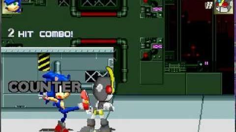 Mugen Sonic 2(MH)(CPU) vs Ultra EmerlMH(CPU)