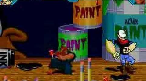 Popeye's Weird Inishkiation - Nutty Evil Dan