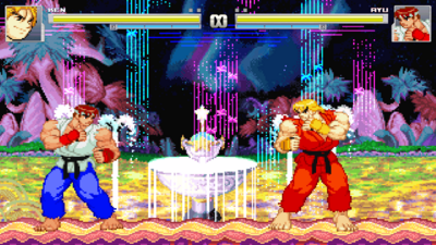 Ken's in! And Ryu changed!
