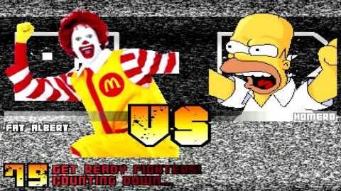 MUGEN Ronald McDonald & Fat Albert vs everyone