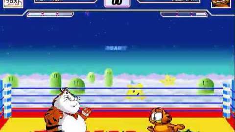Fat Tony vs Garfield