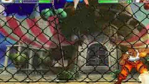 MUGEN Tigre Negro vs