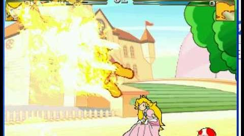 The REAL Princess Peach comes to Smash on mugen!