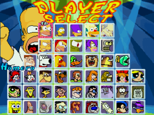File:My cartoon mugen 2012 roster 19 07 2012 by beanfan112-d56zddx.png
