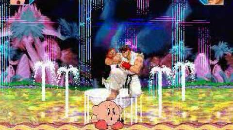 JS MUGEN All Stars Kirby vs Ryu