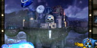 Dr. Wily's Floating Skull Fortress