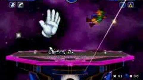 MUGEN Master Hand & Fox VS Metroid & Link