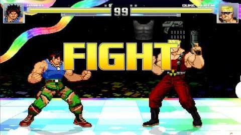 MUGEN John Rambo vs Duke Nukem