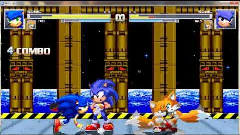 MAGIC MUGEN 10 SONIC AND TAILS VS THEM COPY