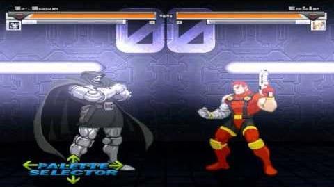 Mugen Dr Doom (Me) Vs (Cpu) Cable