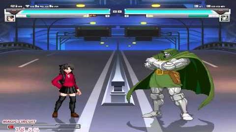 MUGEN Rin Tohsaka (Me) VS Dr