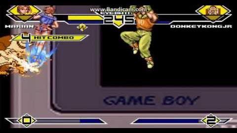 Mugen Marian P1 vs Donkey Kong JR