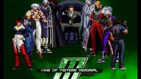 King of Fighters Memorial Boss Fight Gustav Munchausen Yukino Ending KOFM SP credits