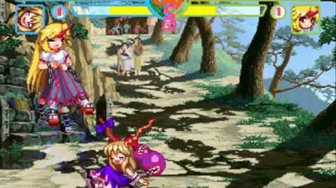 Touhou MUGEN Suika Ibuki vs Yuugi Hoshiguma (Ampchu's Birthday Special)