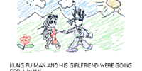 Kung Fu Man's Girlfriend