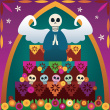 Stock-illustration-930722-day-of-the-dead-altar