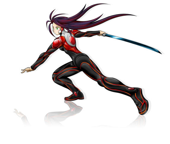File:Female ninja with basic suit by wasweswos.jpg