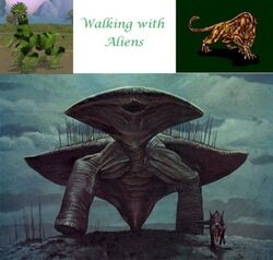 Walking with Aliens