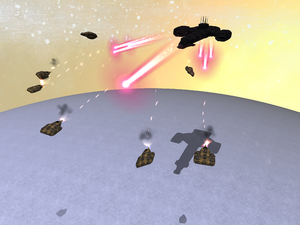 Lentaa vs Daemons 1