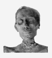 220px-Thutmosis IV mummy head