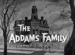 Addams title card