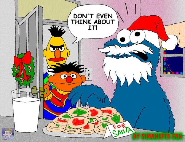 File:Santa cookie by simanettefan-d34zecx.jpg